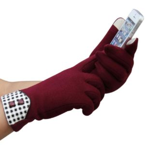 Red Touchscreen Gloves