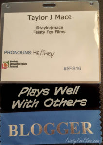 Blogger Badge from Woodhull SFS16