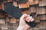Holding the Thwack paddle
