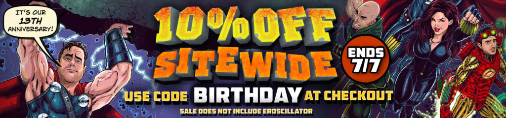 10% siteway for SheVibe's birthday