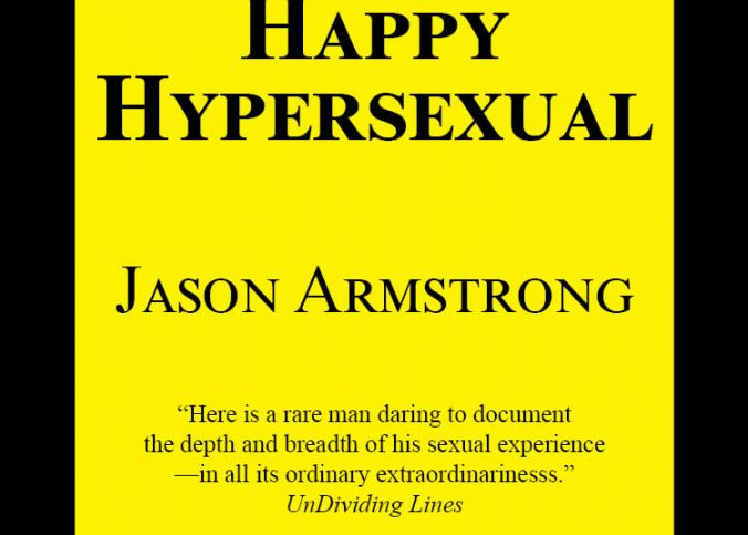 bright yellow book cover to The Happy Hypersexual by Jason Armstrong